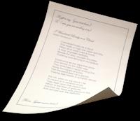 Poem Scroll