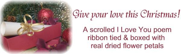 Personalised Christmas Scrolls